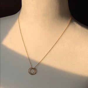 Three circle necklace